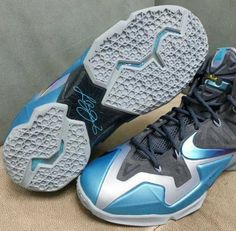super popular e7a79 22d3a Nike Cheap LeBron 11 Armory Slate Gamma Blue Light Armory Blue 616175 401