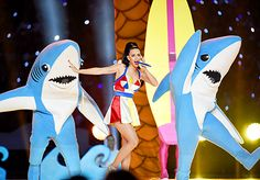 Katy Perry performs during the New England Patriots and the Seattle Seahawks Super Bowl XLIX halftime