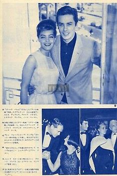 Romy Schneider, Natalie Wood, Alain Delon, Vince Edwards, Good Or Well, Japan Picture, Charles Bronson, Movie Magazine, Claudia Cardinale