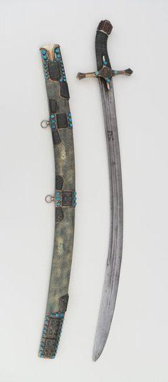 Kiliç Sword. Dated: 17th century . Culture: Ottoman (Turkish).   Copyright © 2015 Tom's Arsenal