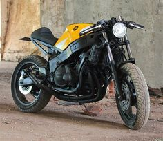 Yamaha Rocket. FZR 600 Cafe Racer by Bullit Garage