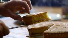 Frangipane tart with custard - by James Martin.  So yummy!