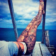 tattooedchicks's photo on Instagram