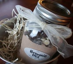12 Days of Homemade Christmas: Brownie Mix.