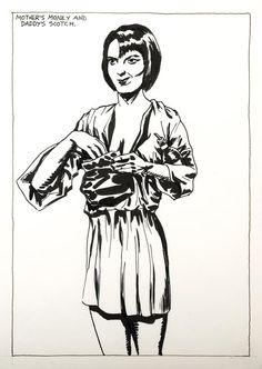 RAYMOND PETTIBON http://www.widewalls.ch/artist/raymond-pettibon/ #contemporary #art #illustration