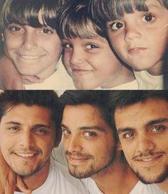 Rodrigo Simas posta clique ao lado dos irmãos Bruno Gissoni e Felipe Simas neste domingo (25.12) (Foto: Reprodução/Instagram)