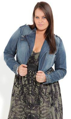Plus Size Denim Jacket, top, jeans | ★FASHIONable | Pinterest ...