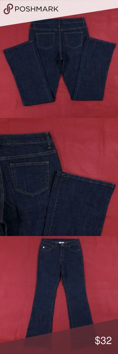 """NWOT ~ Blue Boot Cut Jeans ~ 33"""" Inseam Excellent Condition! No flaws. Size 8.  Measurements lying flat: Waist ? 15.5"""", Hips ? 19"""", Inseam - 33"""", Front Rise ? 10"""", Back Rise ? 13"""".  Please, review pictures. You will get the item shown. Smoke & pet free home. Bobbie Brooks Jeans Boot Cut"""