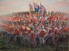 BRITISH ARMY - British square at Waterloo by giuseppe.rava, This is at Waterloo, but it is exemplary of the British Square as used in the Peninsular War. British Army Uniform, British Uniforms, Waterloo 1815, Battle Of Waterloo, Waterloo Belgium, Military Art, Military History, Military Uniforms, Military Costumes