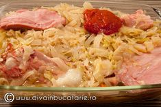 VARZA MURATA CALITA LA CUPTOR CU CIOLAN AFUMAT | Diva in bucatarie Cabbage, Food And Drink, Pork, Rice, Meat, Vegetables, Cooking, Recipes, Plant