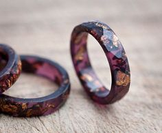 Resin stacking rings by daimblond
