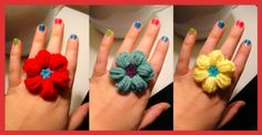 Easy Crochet Rings