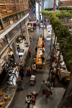 The Kitchens by Landini Associates makes food shopping a human event again - News - Frameweb