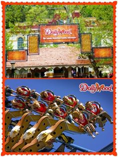 Dollywood theme park in Pigeon Forge Tennessee. I've been there!!! I want to take my little boy there. Fun!!!!!!
