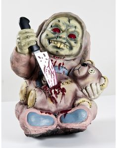 New for 2012! Stabby Zombie Baby Animated Zombie Baby Prop - Spirit Exclusive. $49.99