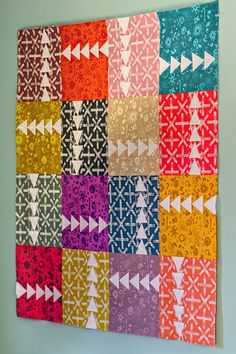 Sun Print Quilt by Bijou Lovely Designs. Fabric by Alison Glass.