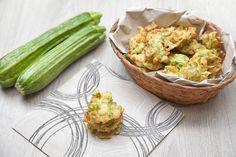 Frittelle di zucchine e mozzarella