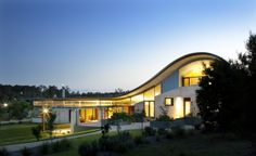 amazing rammed earth + steel home by james stockwell in the hunter valley