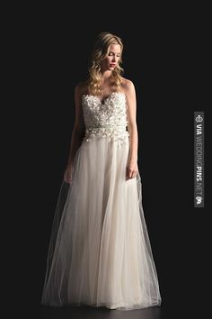 Sarah Seven Spring 2014 collection is like a fairy tale. | CHECK OUT MORE IDEAS AT WEDDINGPINS.NET | #weddingfashion