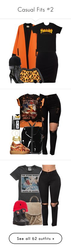 """""""Casual Fits #2"""" by heavensincere ❤ liked on Polyvore featuring FAUSTO PUGLISI, Amiee Lynn, Feather.M, Yves Saint Laurent, Monki, Puma, Elizabeth and James, Melissa Odabash, Inglot and Dolce&Gabbana"""