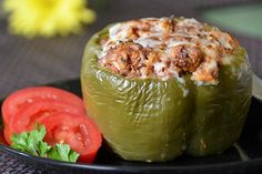 Stuffed Peppers....I've always wanted to try this, but I don't like the green peppers
