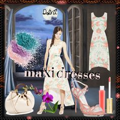 """""""Style Your Favorite Maxi Dress"""" by nelly-nedeva on Polyvore"""
