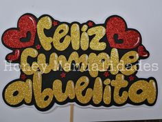 Lettering, Cupcakes, Ideas, Charms, Frases, Crafts To Sell, Creative Crafts, Birthday Display, Bag Packaging
