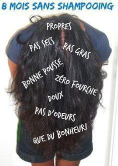 No-poo- water only- copyright- échos verts- 1 Red Hair Wax, Gold Hair, Make Up Cosmetics, Diy Beauty, Beauty Hacks, Natural Gel Nails, Homemade Shampoo, No Shampoo, Natural Hair Styles
