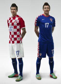 Kit Release  Nike Croatia 2014 World Cup Home and Away Kit 7e2f97727