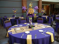 Setting the Mood: LAKERS INSPIRED MITZVAH