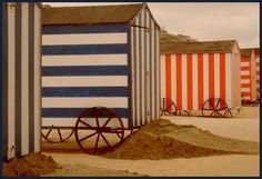 Cabines de plage de Anne Pesché