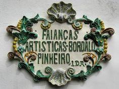 Toponimia faiancas Bordalo Pinheiro, Caldas da Rainha