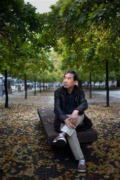 Haruki Murakami in Berlin. Haruki Murakami, Kafka On The Shore, Berlin, Essayist, Writing Styles, Rare Photos, I Love Books, No Time For Me, Jazz