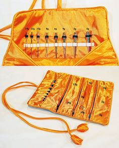 Ready-to-ship stretching kit for 14 gauge through 0 gauge. Stretch your ears! Complete set has tapers, plugs, tape, lube, and a handmade storage bag to keep it all safe!