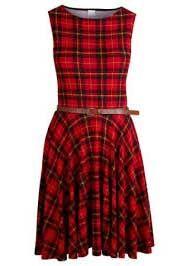 vestidos xadrez vermelho 1