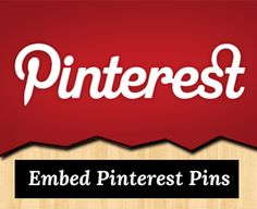 How to Embed Pinterest Pins Into Your Posts in #Blogger Blog ~ My Blogger Lab