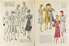 Echo der Mode Nr.113 07.1940 in Bücher, Zeitschriften, Lifestyle & Mode | eBay