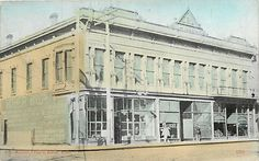 Masonic Temple, Dillon, Montana, Circa 1910, Hand Colored Post Card