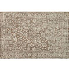 Stop Searching And Make The Sophisticated Choice For Your Home With This Loloi Nyla Rug In Mocha