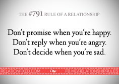 Relationship Rules added a new photo. True Quotes, Great Quotes, Quotes To Live By, Silly Quotes, My Emotions, In My Feelings, Relationship Problems, Relationships, Relationship Tips
