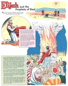 Professor H's Wayback Machine: Stories from the Bible, 1962 Elijah Bible, Kings Of Israel, Sunday School Activities, Wayback Machine, Bible Teachings, Religious Education, Picture Story, Faith Prayer, Old Testament
