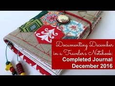 seemownay: Documenting December in a Traveler's Notebook