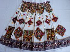 Navratri chaniya choli Designer Indian whice and by mfussion, $100.00