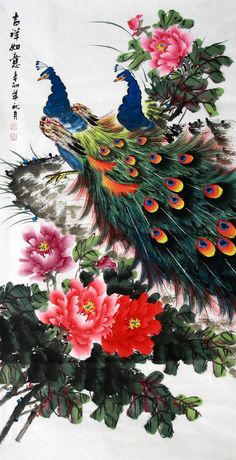 Watch Peacock Painting in CNArtGallery.com - Flea market - China Forum