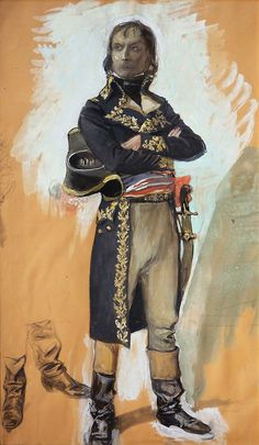 Sketch of Napoleon Bonaparte as First Consul   Charles Hoffbauer, 1875-1957