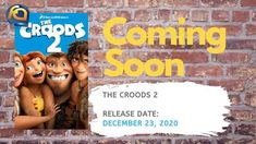 The Croods 2 release date is just before Christmas on December Upcoming Animated Movies, Coming To Theaters, Home Movies, 2 Movie, Positive Messages, Release Date, New Age, Soundtrack, Role Models