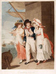 British Plenty , Henry Singleton, 1794- Good view of a British Sailor and ladies!
