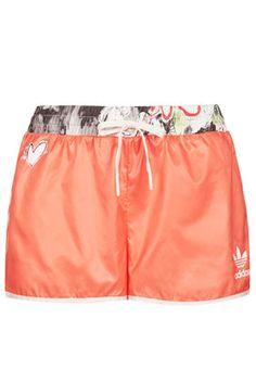 Orange Runner Shorts by Topshop x adidas Originals Nike Pro Shorts 1e93041c937