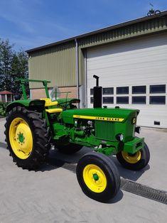 Jd Tractors, John Deere Equipment, Vintage Tractors, Rubber Tires, Agriculture, Farming, Vehicles, Motorcycles, Garage
