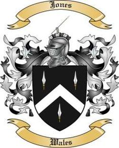 Jones Family Coat of Arms from Wales